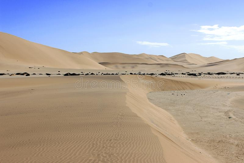 Dune dans le d?sert de namib Afrique photo stock
