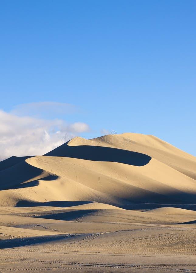 Dune de montagne de sable photographie stock libre de droits