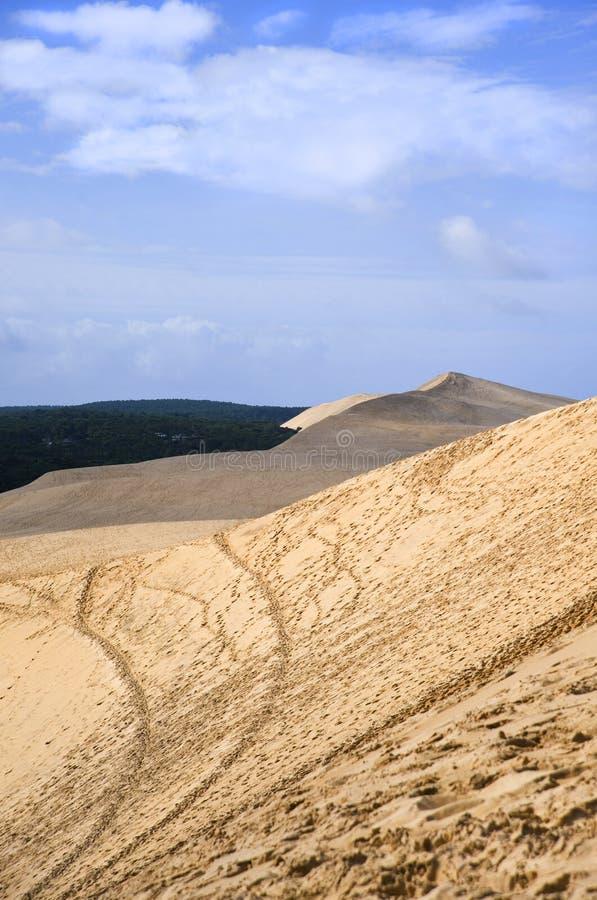 Dune de Pyla photo stock