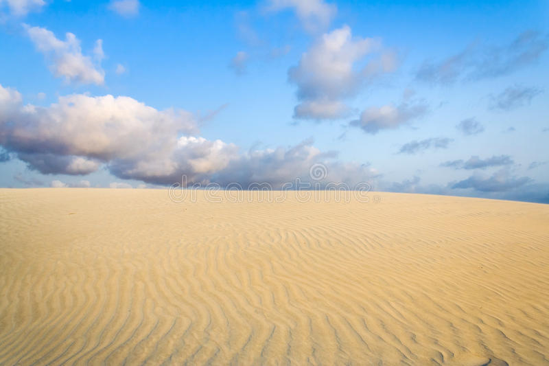 Dune de sable photo stock