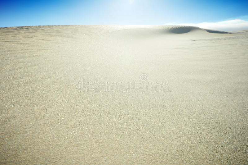 Dune de sable de plage photos stock