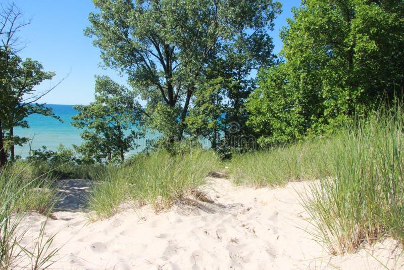 Dune de Sandy images libres de droits