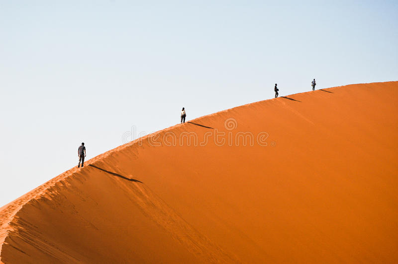 Dune de Sossusvlei photos stock