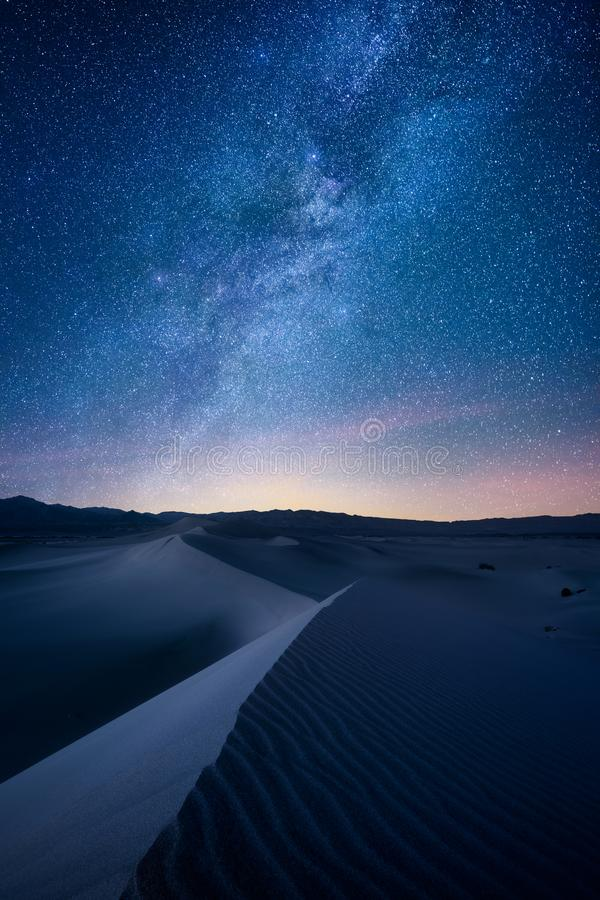 Dune del Mesquite di Death Valley fotografia stock libera da diritti