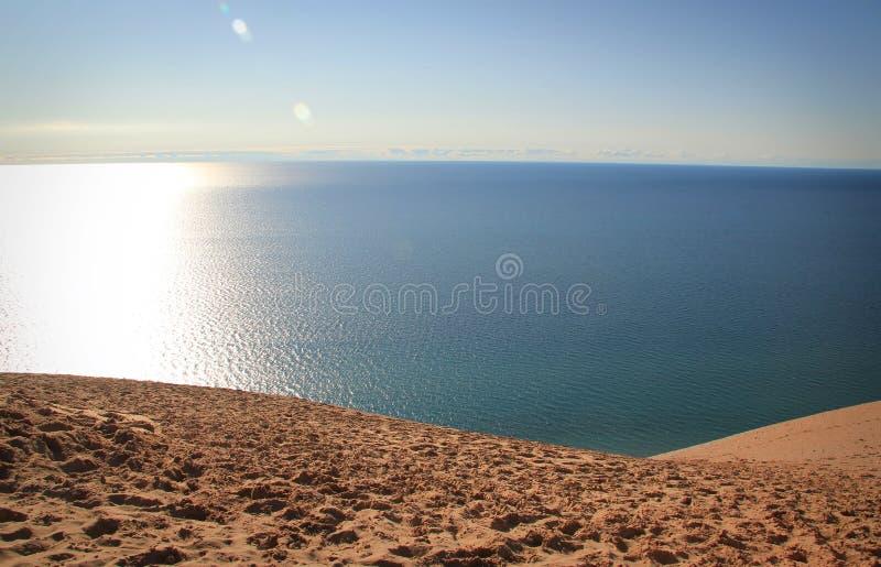 Dune dell'orso di sonno immagine stock