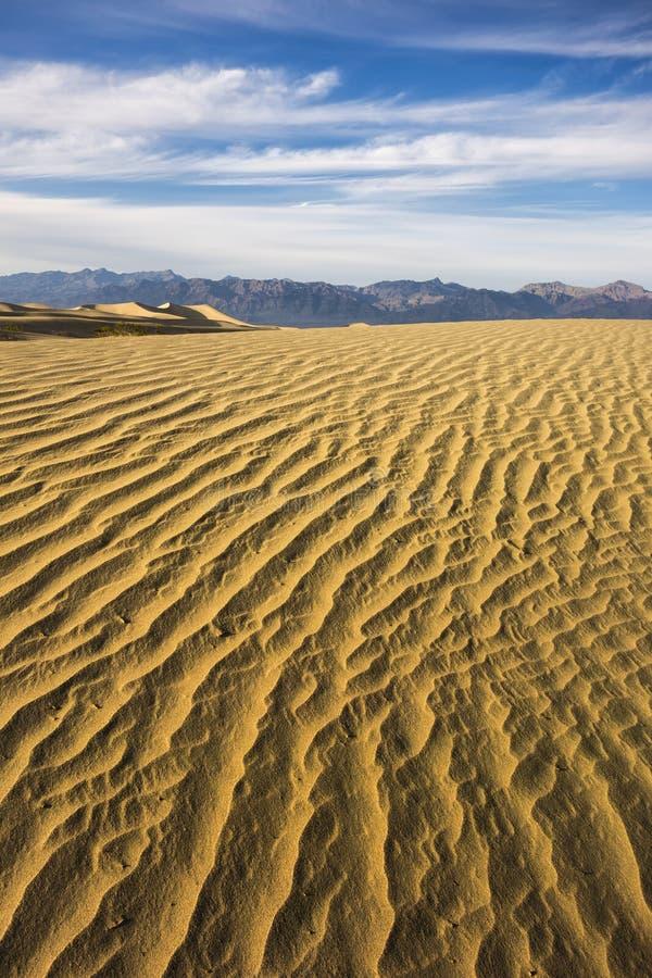 Dune di Death Valley fotografia stock