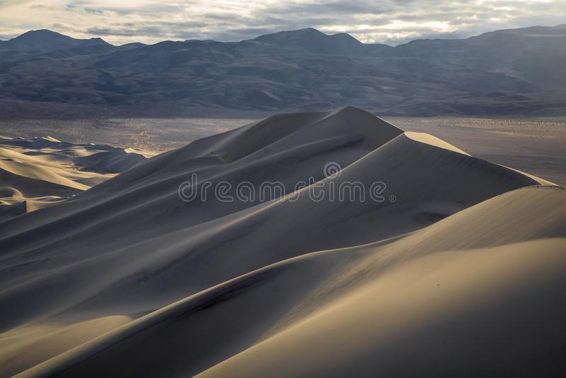 Dune di Eureka fotografie stock libere da diritti