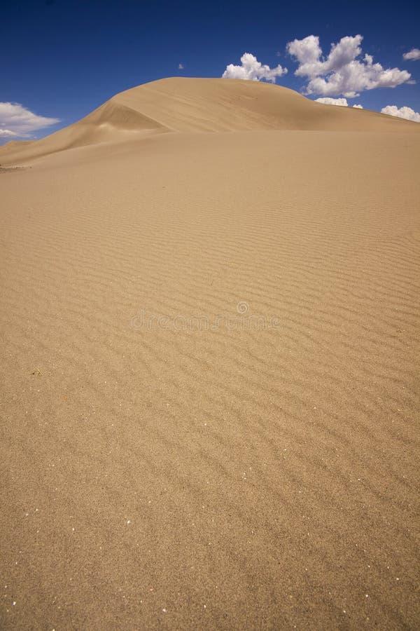 Dune di sabbia immagini stock libere da diritti
