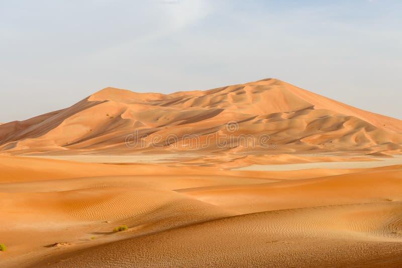 Dune di sabbia nel deserto dell'Oman (Oman) immagini stock
