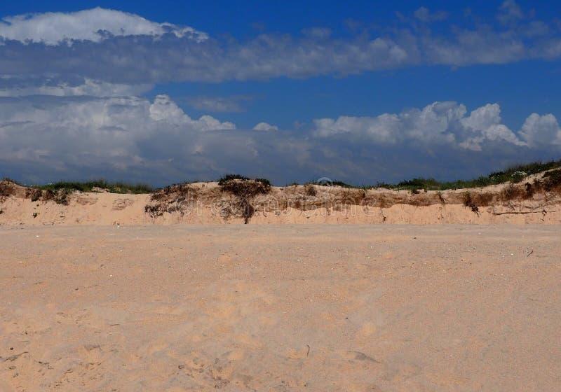 Dune di sabbia su Ilha Da Culatra Portogallo fotografie stock libere da diritti