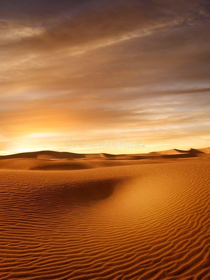 Dune di sabbie al parco nazionale delle dune di sabbie fotografie stock libere da diritti