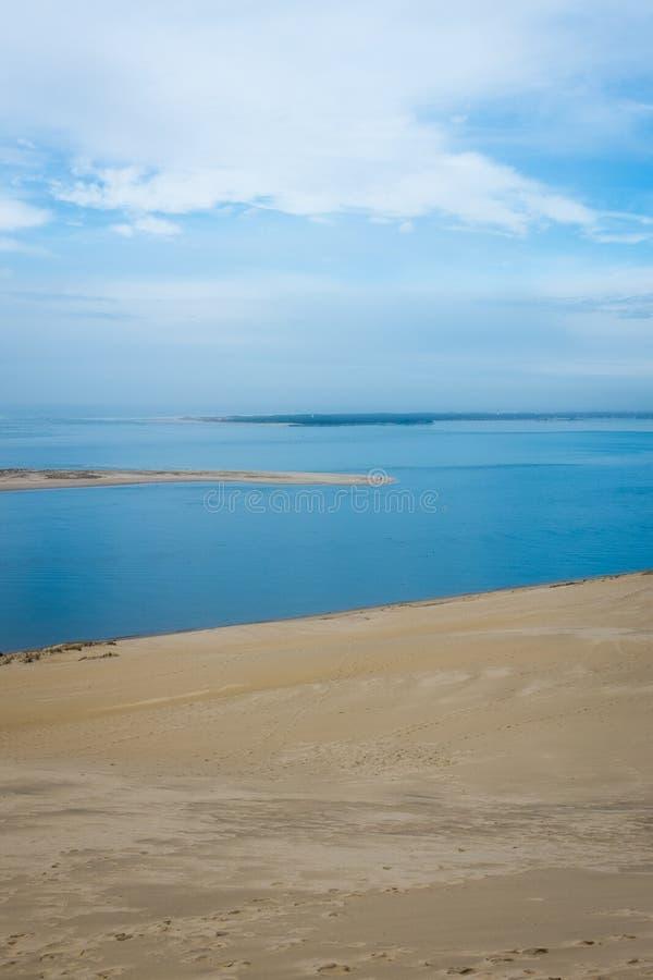 Dune du Pilat fotografia stock libera da diritti