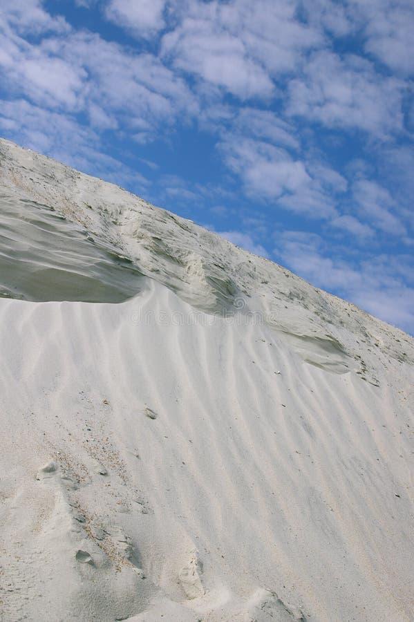 Dune et ciel image stock
