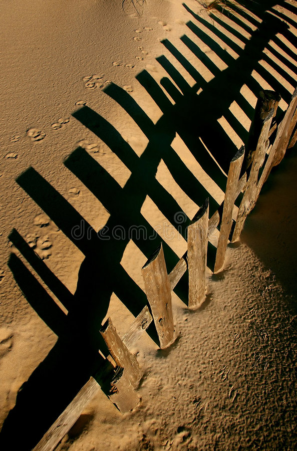 Download Dune fence stock image. Image of beach, fall, fence, coastline - 2333579