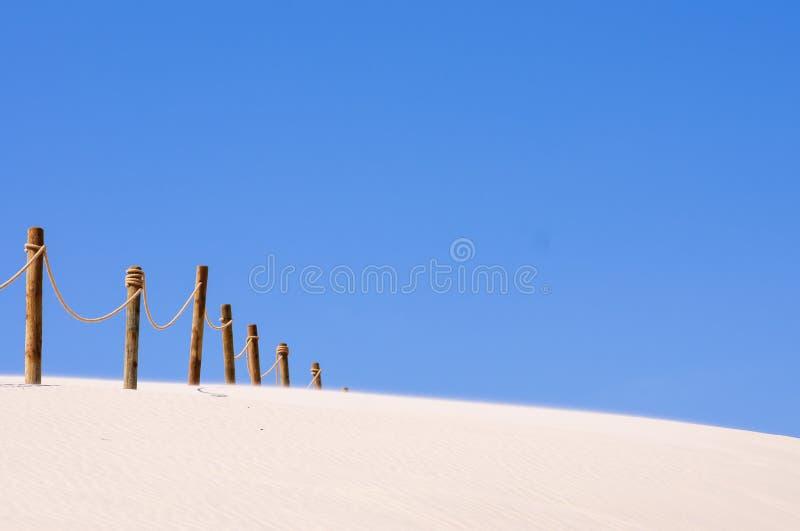 Dune nel polacco del parco nazionale di Slowinski: Il parco Narodowy di S?owi?ski, ha chiamato il deserto di Leba fotografie stock