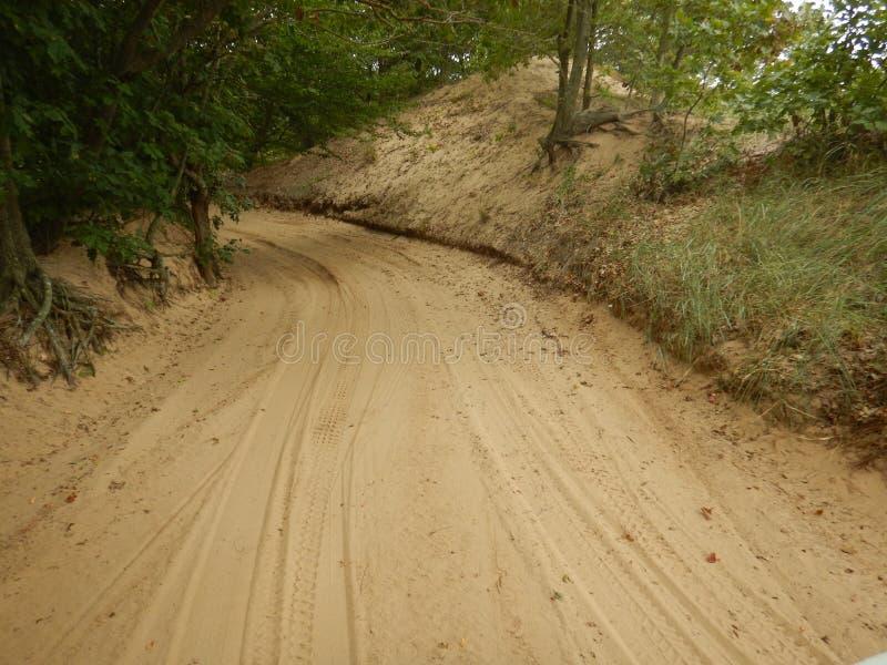 Dune Rides Lake Michigan royalty free stock photography