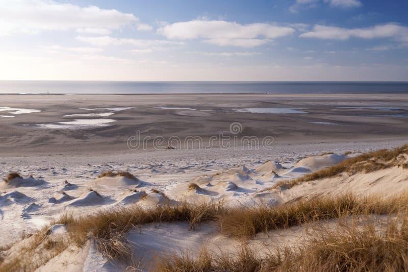 Dune su Amrum fotografia stock libera da diritti