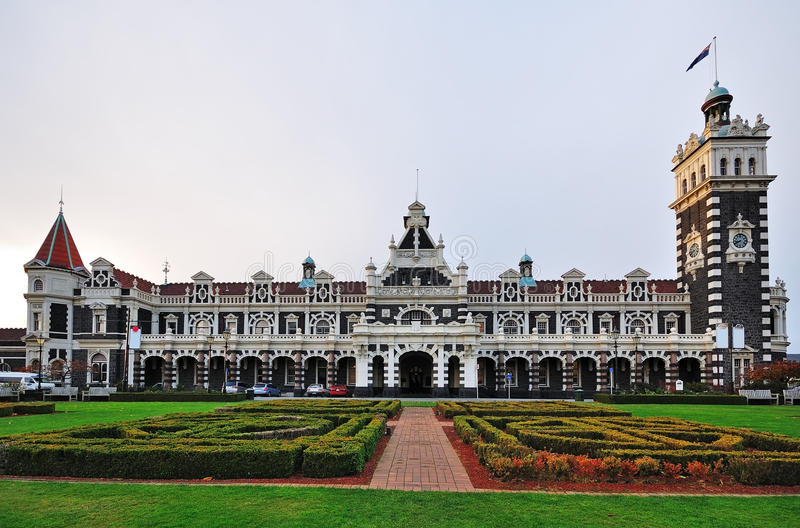 Dunedin Railway Station stock images