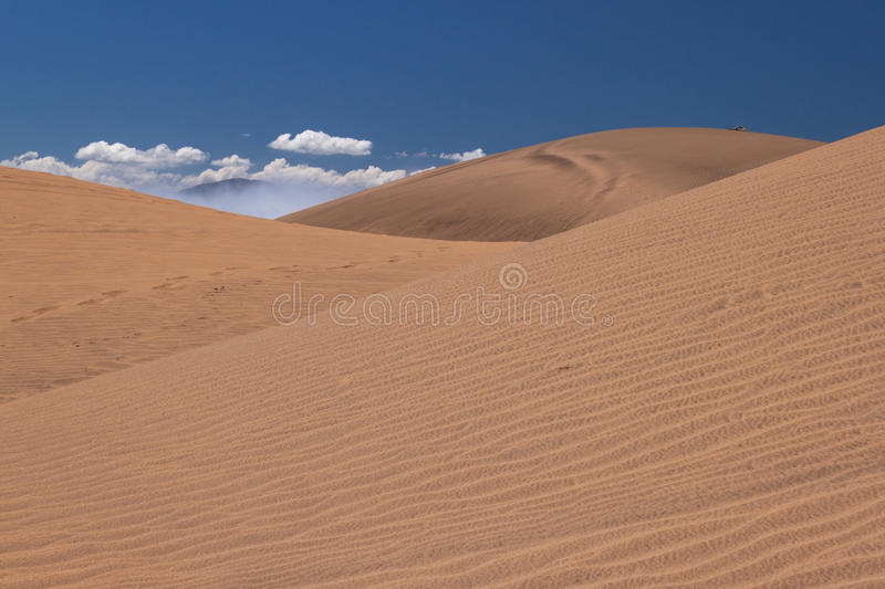 Download Dunes stock image. Image of mountain, sunny, clouds, dune - 23734891