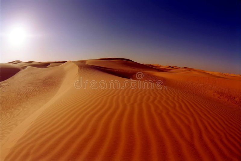 Download Dunes stock image. Image of hummock, heat, hill, arabic - 4292221