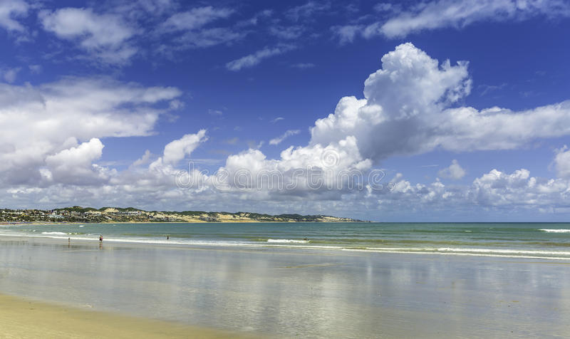 Dunes beach in Natal city, Brazil stock photo