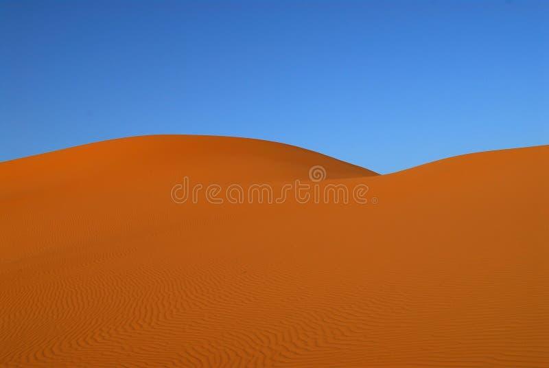 Dunes de désert du Sahara images libres de droits