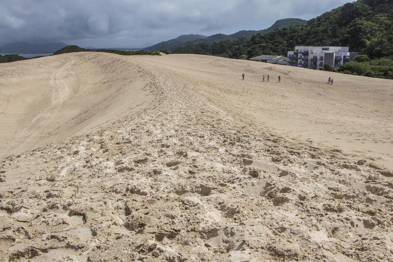 Dunes de Joaquina - Florianópolis/SC - le Brésil photo libre de droits