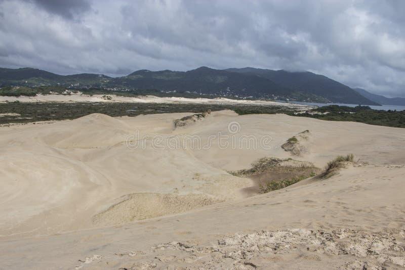 Dunes de Joaquina - Florianópolis/SC - le Brésil photos stock