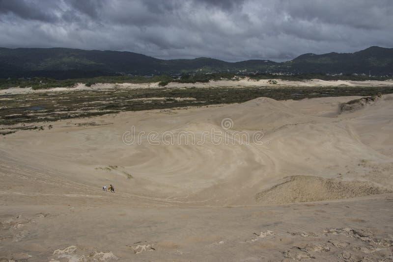 Dunes de Joaquina - Florianópolis/SC - le Brésil photos libres de droits