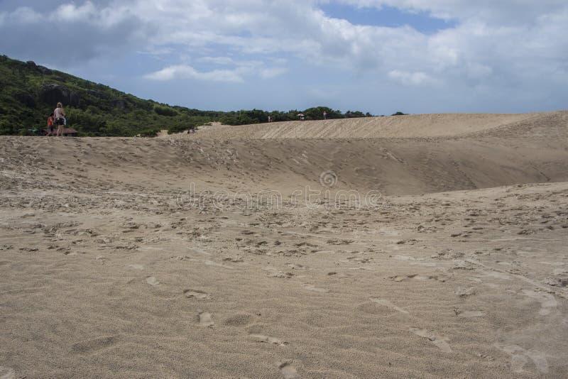 Dunes de Joaquina - Florianópolis/SC - le Brésil image stock