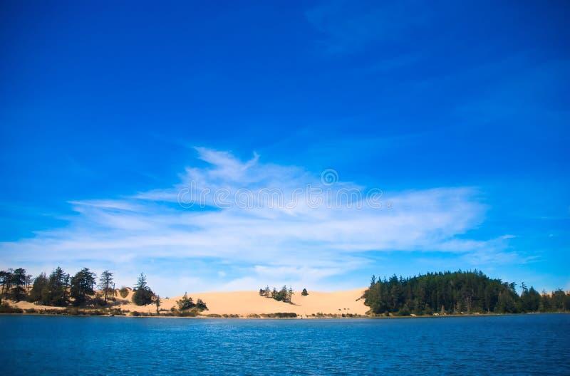 Dunes de l'Orégon images stock