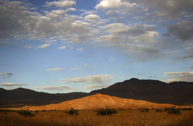 Dunes de sable de Death Valley photographie stock libre de droits