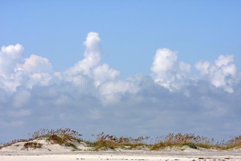 Dunes de sable de la Caroline du Nord photographie stock libre de droits