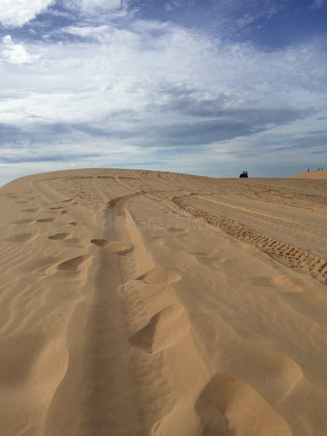 Dunes de sable Mui NÐ? photos stock