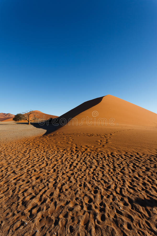 Dunes de Sossusvlei photo stock