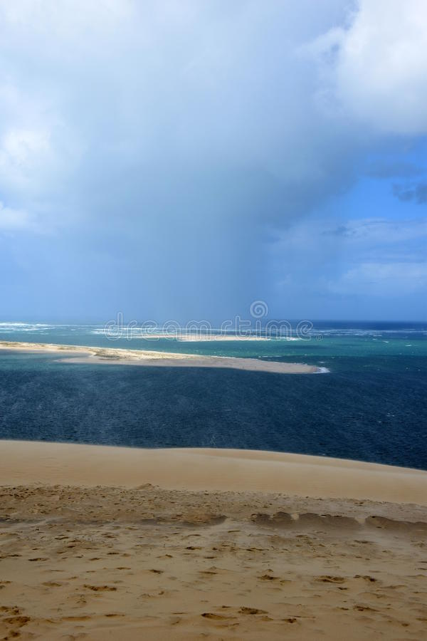 Dunes du Pilat photographie stock