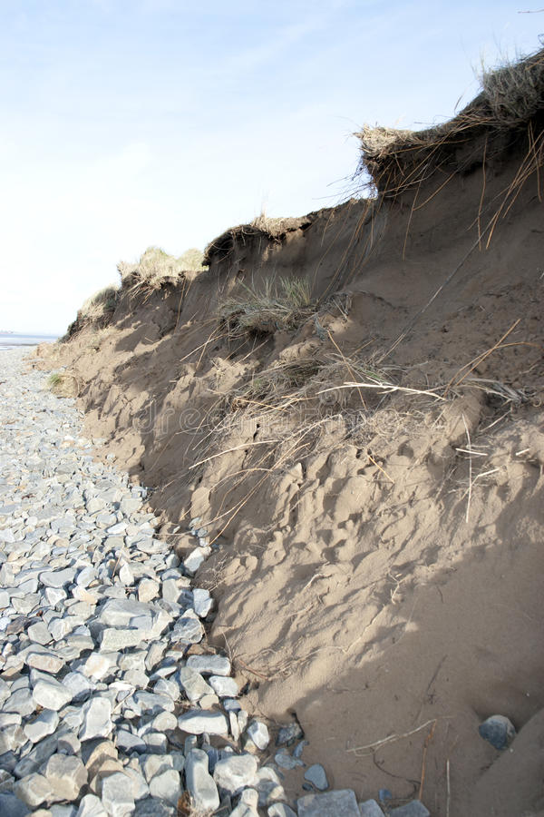 Download Dunes Endommagées Après La Tempête Image stock - Image du éroder, atlantique: 45351001