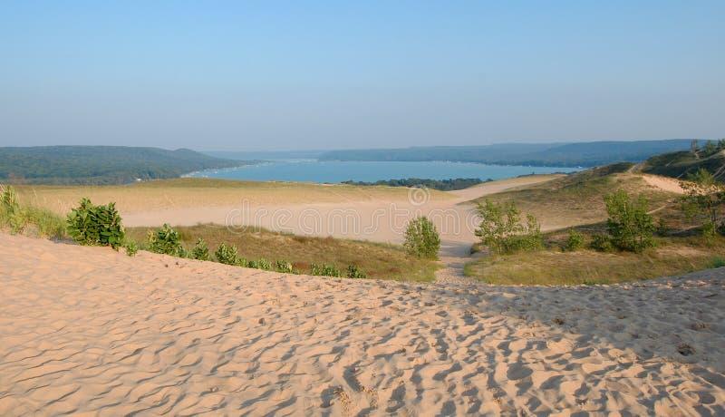 Dunes et compartiment photographie stock