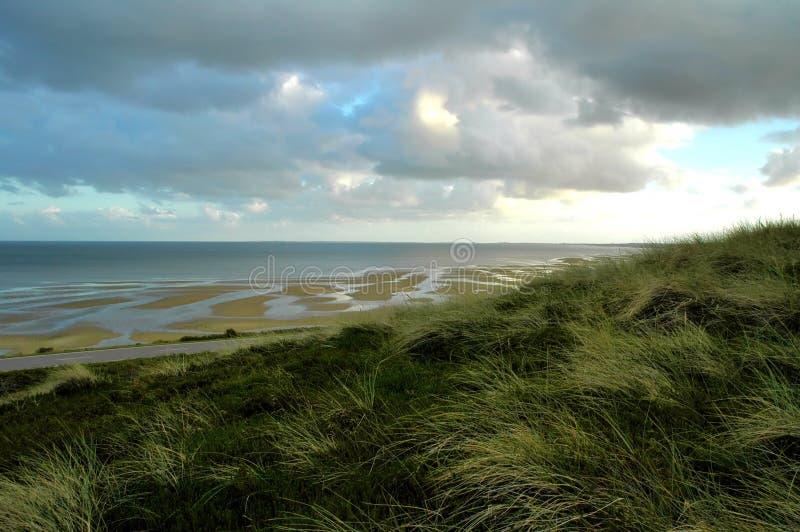 Dunes et tideland Sylt photos libres de droits