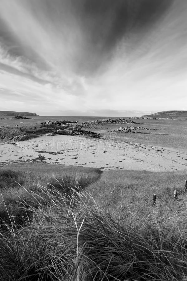 Dunes Of A Golf Course In County Donegal Royalty Free Stock Images