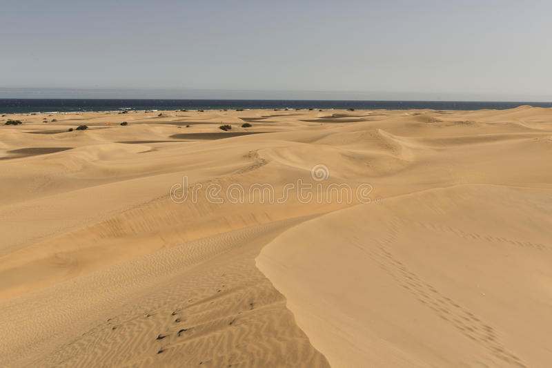 Download Dunes of Maspalomas stock image. Image of landscape, tourism - 77342985