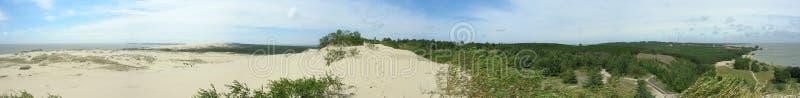 Download Dunes Panorama stock photo. Image of lithuania, nida, parnidis - 2769908