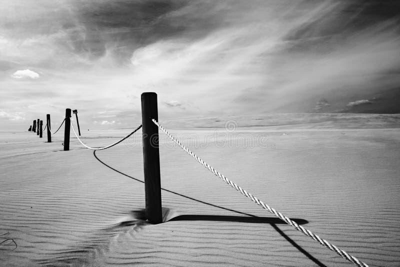Dunes polonaises image libre de droits