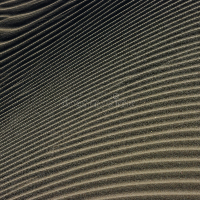 Dunes. Sand forming curves and shapes in the desert royalty free stock photos