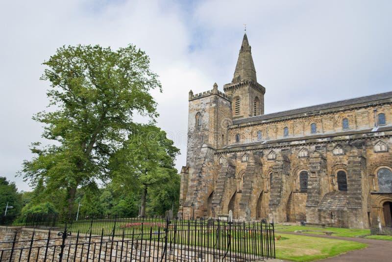 Dunfermline Abbey Church. Ruins of Dunfermline Abbey Church, Scotland, United Kingdom stock photo