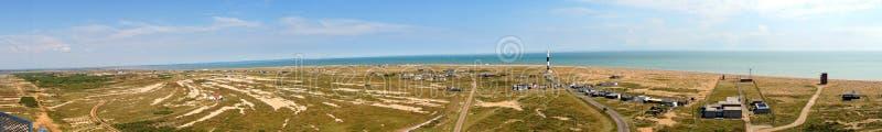 Dungeness panoramiczny fotografia stock
