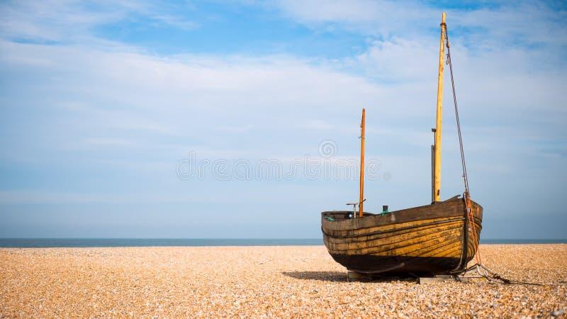 Dungeness segelbåt royaltyfria bilder