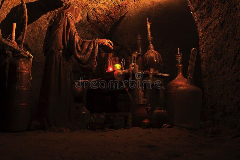 dungeon загадочный стоковые изображения