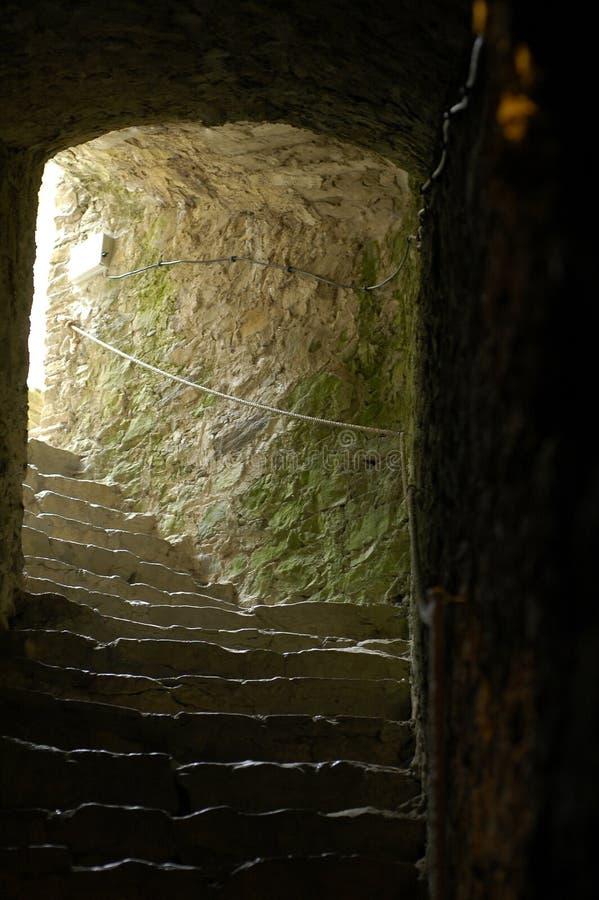 Dungeon do castelo foto de stock