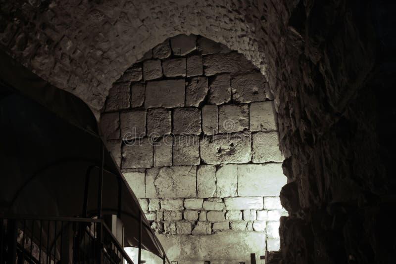 Dungeon do Temple Mount imagem de stock royalty free